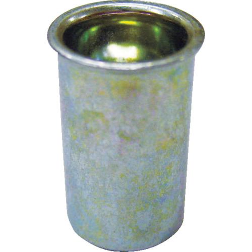 ロブテックス(エビ) エビナット 薄頭 スティール M4板厚0.5~2.0 1000本入 NSK4M