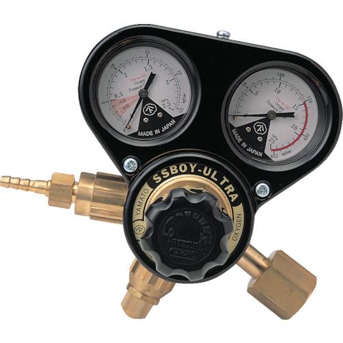 ヤマト産業 乾式安全器内蔵型 キャスター式調整器 SSボーイウルトラ(酸素ガス)関東式 N-SSBUR-OX-E