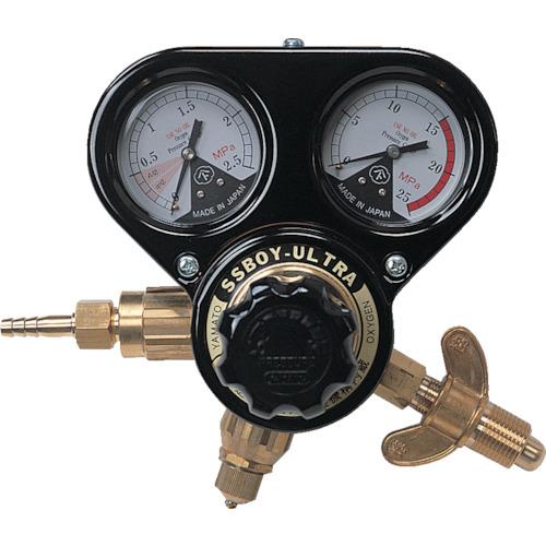 ヤマト産業 乾式安全器内蔵型 キャスター式調整器 SSボーイウルトラ(酸素ガス)関西式 N-SSBUR-OX-W