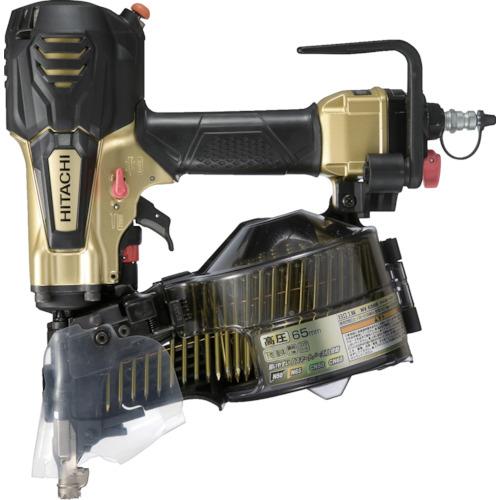 【当店限定販売】 店 NV65HR-S:工具屋のプロ 日立工機(HITACHI) メタリックゴールド 高圧ロール釘打機-DIY・工具