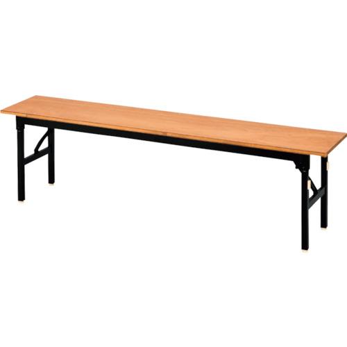 【直送】【代引不可】IRIS(アイリスチトセ) 折りたたみ木製合板ベンチ 1800X300X430 OCOB-1830