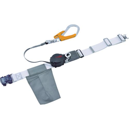 ツヨロン(藤井電工) なでしこワンハンドリトライト安全帯(OTバックル) ホワイトSS寸 ORL-OT593OCSV-W-SS-BP