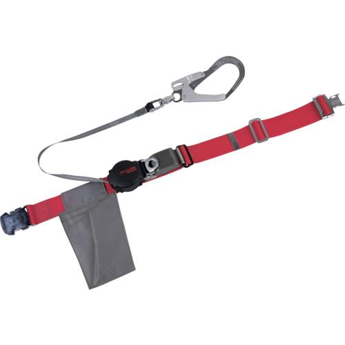 ツヨロン(藤井電工) なでしこ安全帯 OTバックル式 ワンハンドリトラ 赤色 SS寸 ORL-OT593SV-R-SS-BP