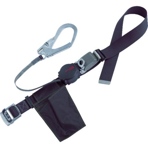 ツヨロン(藤井電工) ワンハンドリトラ安全帯 黒 L寸 ORN-599-BLK-L-BP