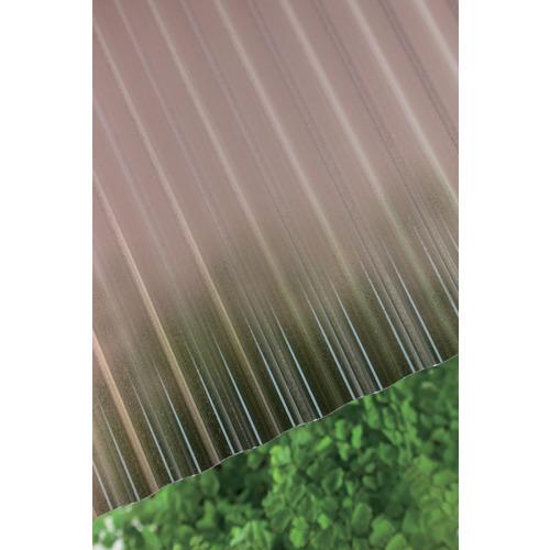 【直送】【代引不可】タキロン ポリカ波板熱線カット 32波 7尺 4850ブロンズマット 10枚 235716