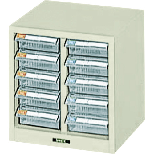 ナカバヤシ ピックケース 243X237X253 浅5段X2列 PC-10