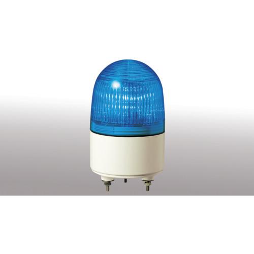 パトライト 小型LED表示灯 省電力タイプ AC100 青 PES-100A-B