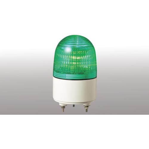 パトライト 小型LED表示灯 省電力タイプ AC200 緑 PES-200A-G
