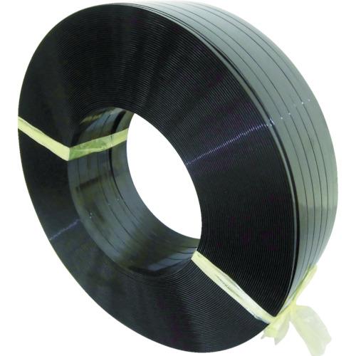 積水樹脂 ポリエステルバンド 15.5X1100m 黒 PET1605M