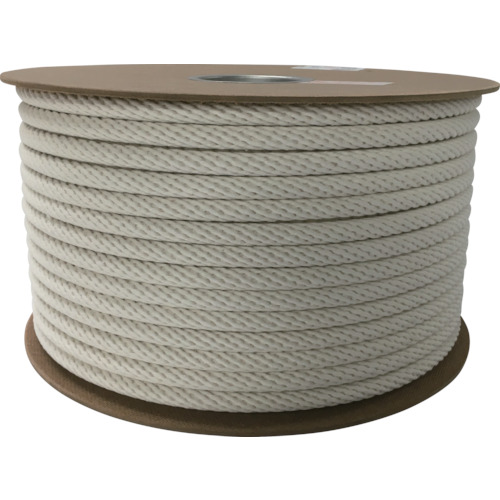 ユタカメイク 綿ロープ(金剛打タイプ) 12X100m PRCX-6