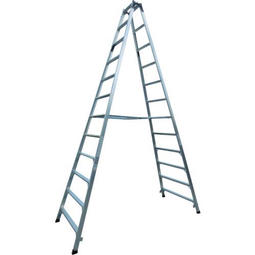 【直送】【代引不可】ALINCO(アルインコ) 幅広踏ざん(55mm)長尺専用脚立 3.47m PRS360W