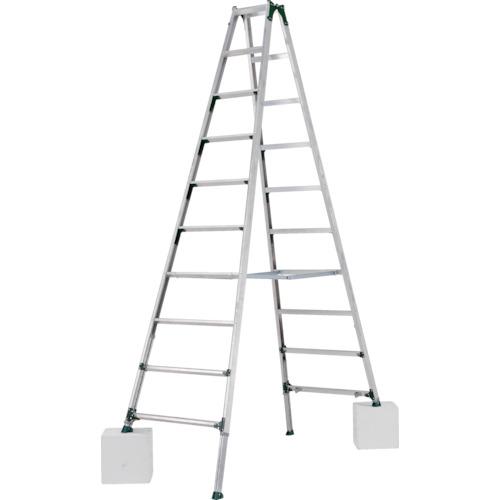 【直送】【代引不可】ALINCO(アルインコ) 伸縮脚付き専用脚立(踏ざん幅60mm・各脚441mm伸縮) PRT360FX