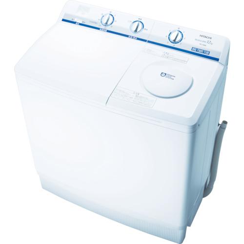 【直送】【代引不可】日立工機(HITACHI) 日立2槽式洗濯機 PS-120A W