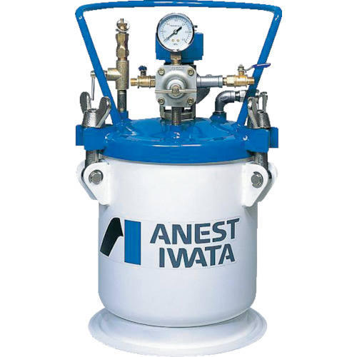 【直送】【代引不可】アネスト岩田 塗料加圧タンク 汎用 自動攪拌式 40L PT-40DM