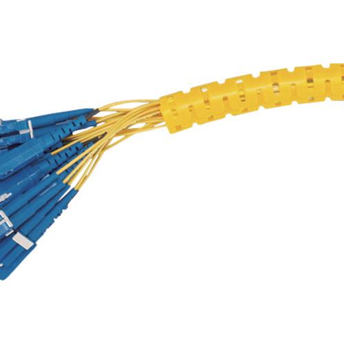 スーパーSALE期間中 全商品P2倍 激安特価品 3月5日10日はP5倍 パンドウイット 電線保護チューブ スリット型スパイラル 束線径20.6Φmm 黄 PW100F-C4 30m巻キ いつでも送料無料 パンラップ