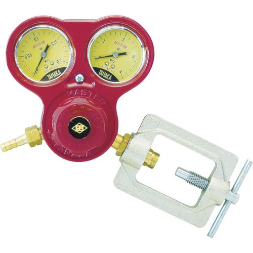 日酸TANAKA アセチレン用圧力調整器 マスター6 Aガード付 Q832D