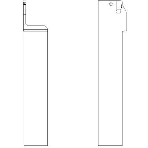 サンドビック T-Max Q-カット 突切り・溝入れ用シャンクバイト R151.21-2525-30