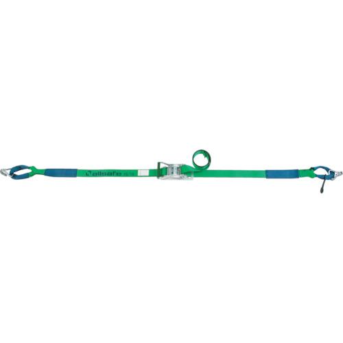 ラチェット式 allsafe(オールセーフ) しぼり&ナローフック重荷重 R5IN16 ラッシングベルト