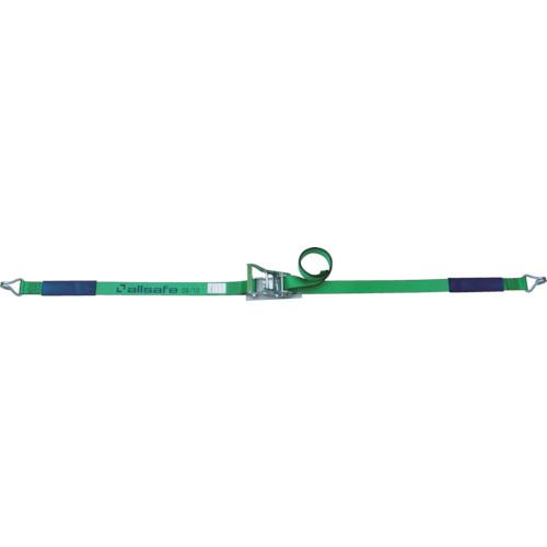allsafe(オールセーフ) ベルト荷締機 ラチェット式ナローフック仕様(重荷重) 4m R5N14