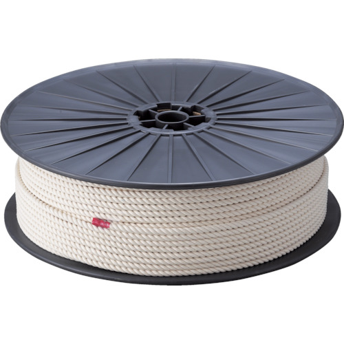 TRUSCO(トラスコ) 綿ロープ 6X200m R-6200M