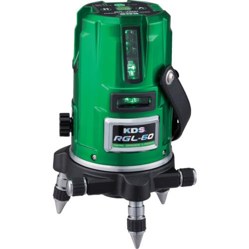 ムラテックKDS レーザー墨出器 リアルグリーンレーザー RGL-60