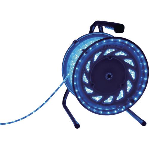 日動工業 LEDラインチューブドラム 青 RLL-30S-B