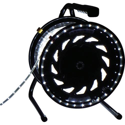 日動工業 LEDラインチューブドラム 白 RLL-30S-W
