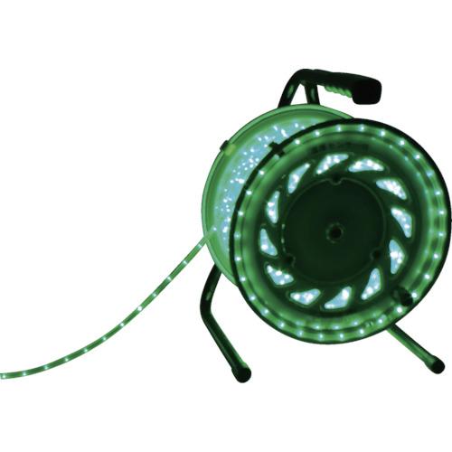 日動工業 LEDラインチューブドラム 緑 RLL-50S-G