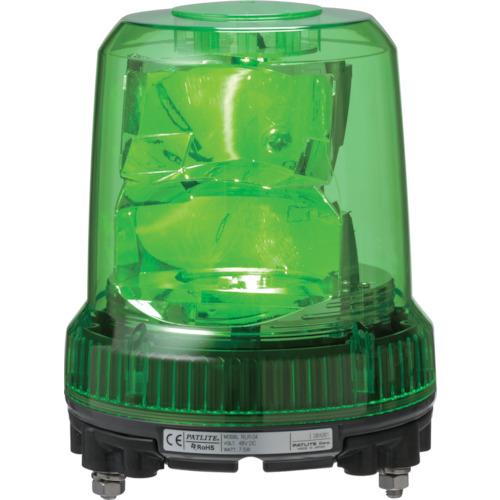 パトライト 強耐振型LED回転灯 φ120 黄 RLR-M2-P-Y