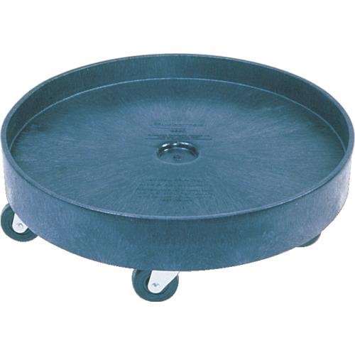 ラバーメイド ラウンドブルートコンテナ用ドーリー ドラム式 2650