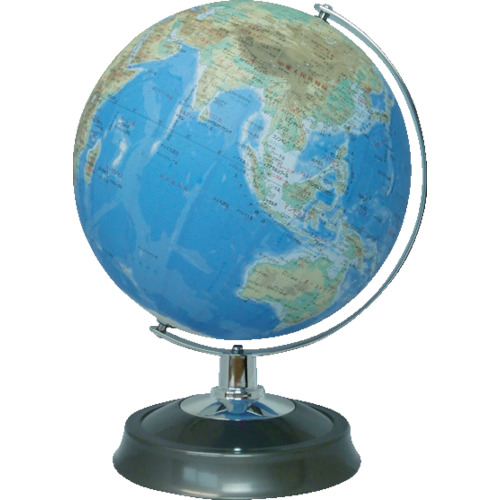 昭和カートン 地球儀 地勢図タイプ 26cm 4個 26-TAP