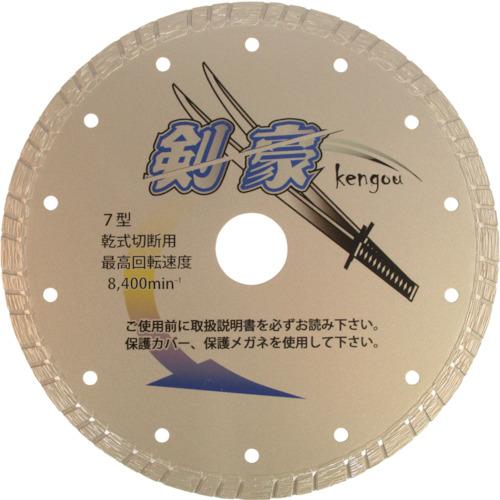 三京ダイヤモンド ダイヤモンドカッター 剣豪 180X2.1X8.0X25.4 RZ-K7