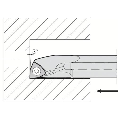 京セラ 内径加工用ホルダ S10H-SWUBR06-06AE