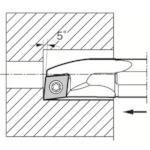 京セラ 内径加工用ホルダ S10L-SCLPR08-12A
