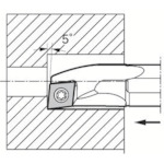 京セラ 内径加工用ホルダ S12M-SCLPL08-14A