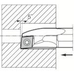 京セラ 内径加工用ホルダ S16Q-SCLCR09-18A