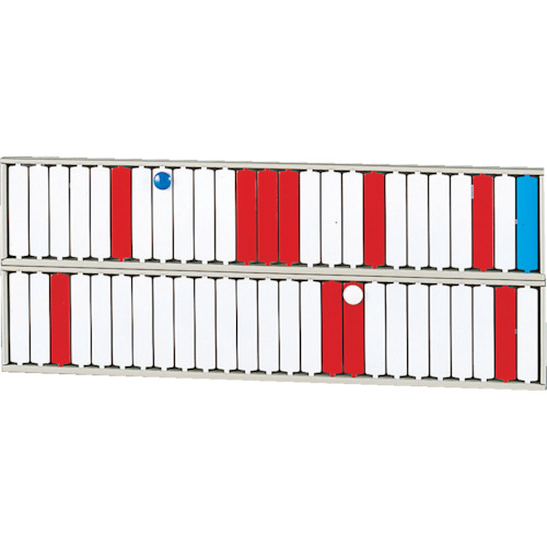 LIHIT(リヒト) 回転標示盤(50口座) 10台 S2532