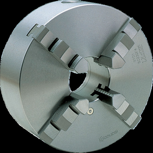 【直送】【代引不可】ビクター(小林鉄工) スクロールチャック 9インチ 4爪 一体爪 SC230F4