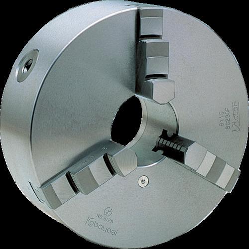 【直送】【代引不可】ビクター(小林鉄工) スクロールチャック 12インチ 3爪 一体爪 SC310F