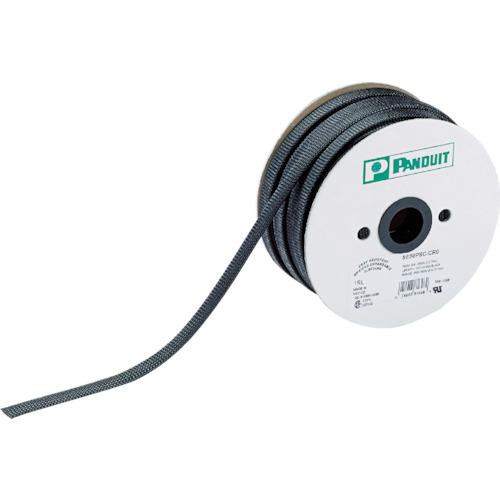 パンドウイット スーパーネットチューブ(ほつれ防止タイプ) 黒 SE12PSC-TR0