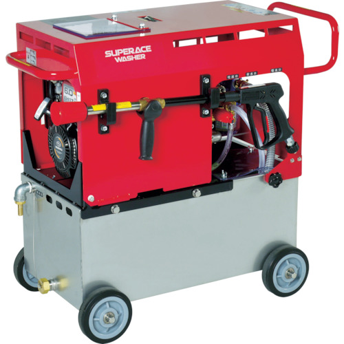 【直送】【代引不可】スーパー工業 エンジン式 高圧洗浄機(静音型) SE-3005ST5