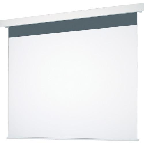 【直送】【代引不可】OS(オーエス) 120型 電動巻上げ式スクリーン エコマーク認定 SEP-120VF-MRW1-ESECO