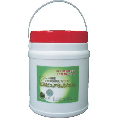 佐々木化学 ステンレス溶接焼け除去剤 エスピュアSJジェル(高粘度タイプ)1kg SJJEL1000G
