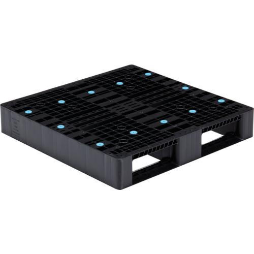 【直送】【代引不可】サンコー(三甲) パレット 900X900X150 黒 SK-D2-909-BK