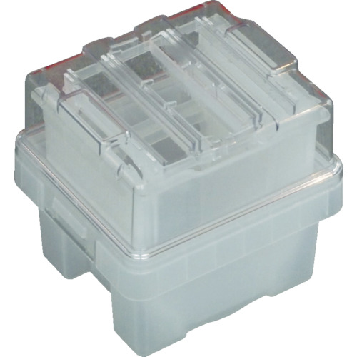 サンコー(三甲) 半導体ウエハ搬送容器 カセットタイプ 175×196×188 SKWAF-SIG150