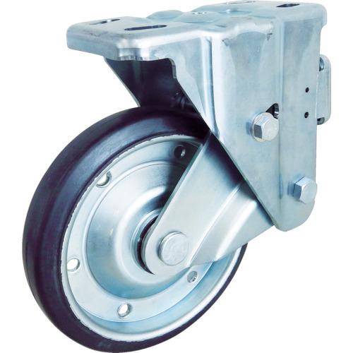 ユーエイキャスター スカイキャスター固定車 200径 耐摩耗ゴム車輪 SKY-1R200WF(AR)