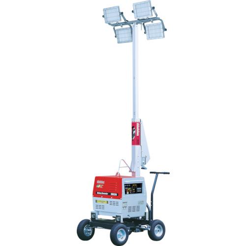【直送】【代引不可】新ダイワ(やまびこ) バッテリーLED投光機 110W4灯式 SL420LBG
