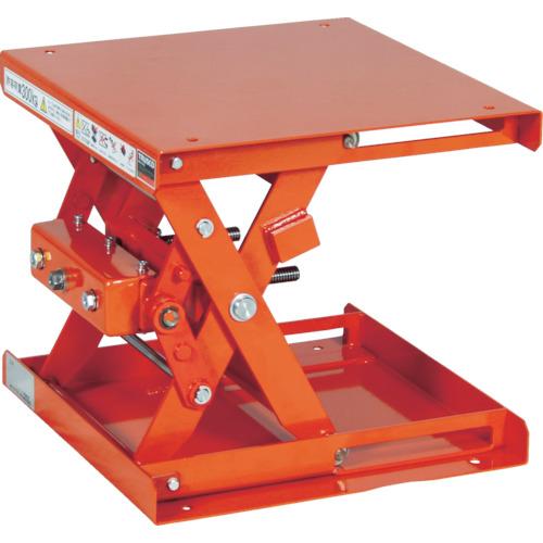 【直送】【代引不可】TRUSCO(トラスコ) 作業台リフター 手動昇降式 300kg 500X500 SLH-30-5050