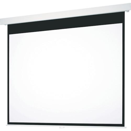 【直送】【代引不可】OS(オーエス) 100型 手動巻上げ式スクリーン エコマーク認定 SMP-100VF-W1-ESECO