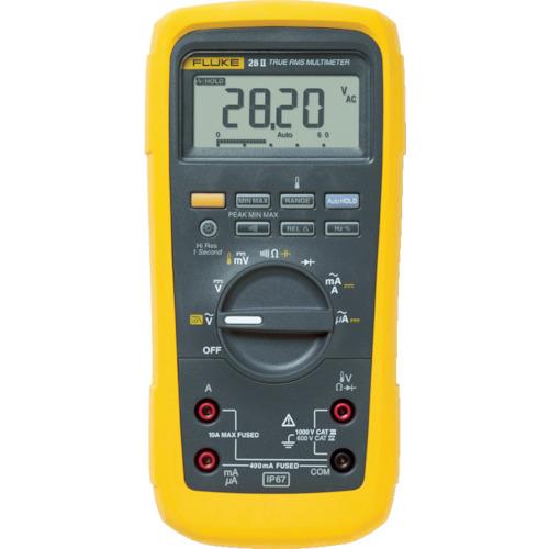 FLUKE(TFFフルーク) 防水・防塵マルチメーター(温度測定機能・ローパスフィルター) 28-2
